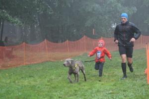 závod si užily i děti :)
