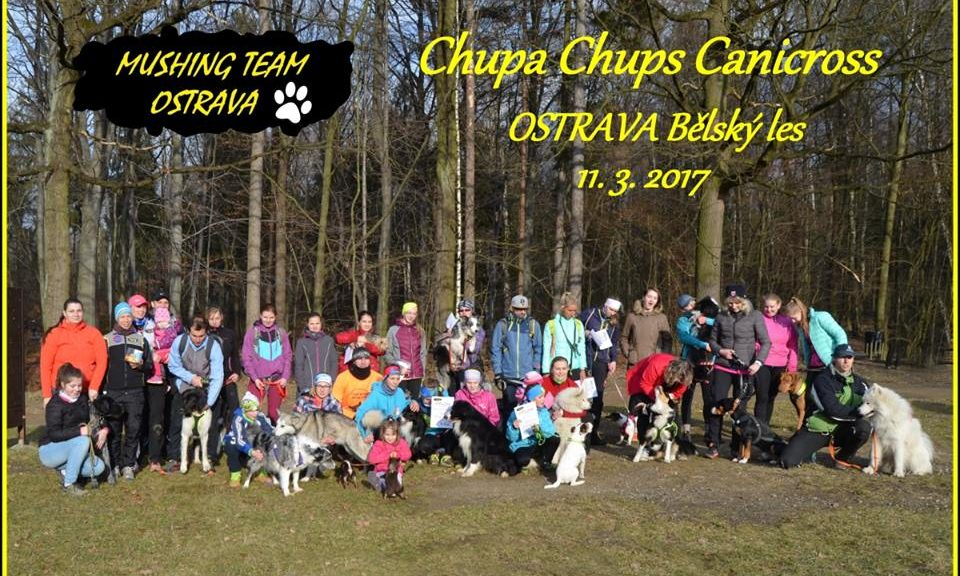 Chupa Chups canicross závod 70c258ef23